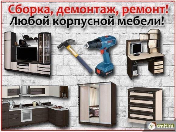 Изготовление корпусной мебели для дома, офиса, торговли. Фото 1.