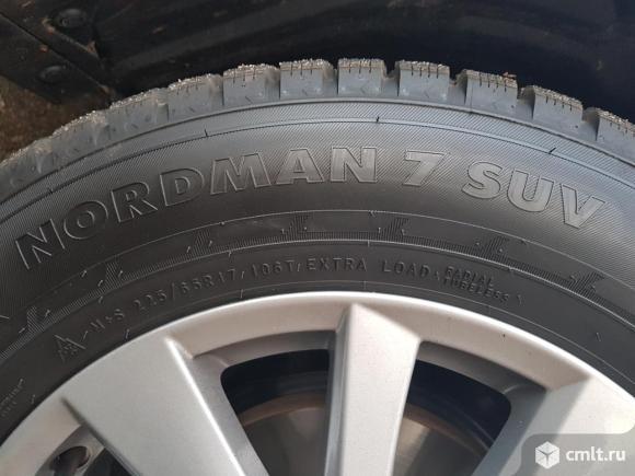 Шипы Mazda CX-5 Nokian Nordman 7 225/65 R17. Фото 5.