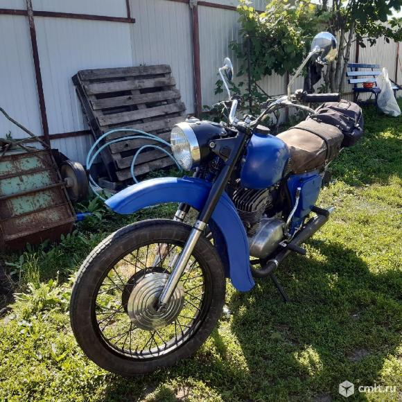 Мотоцикл ИЖ  - 1967 г. в.. Фото 1.