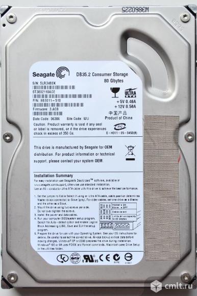 HDD Seagate DB 35.2. Фото 1.