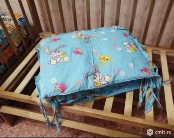 """Кроватка """"мой малыш"""" продольный маятник. Фото 4."""