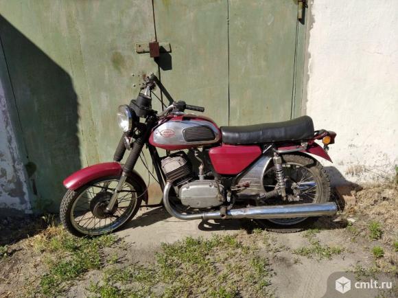 Мотоцикл Jawa - 1984 г. в.. Фото 1.