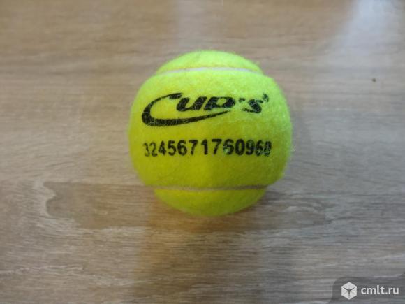 Уникальный теннисный мяч. Фото 1.