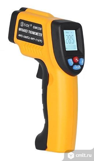 Бесконтактный инфракрасный термометр с EMS. Фото 1.