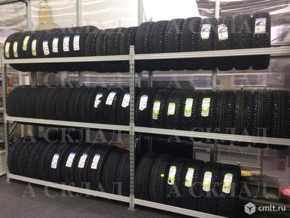 Стеллажи для хранения автомобильных колес. Фото 1.