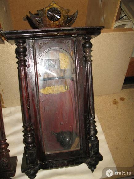 Часы с боем конец 19 века Gustav Becker. Фото 3.