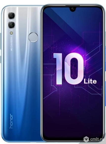 """Как новый 6,21"""" смартфон HONOR 10 lite синий. Фото 1."""