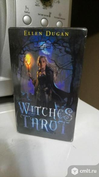 Таро Thelema,Witches Tarot (Колдовское), ошо Дзен. Фото 1.