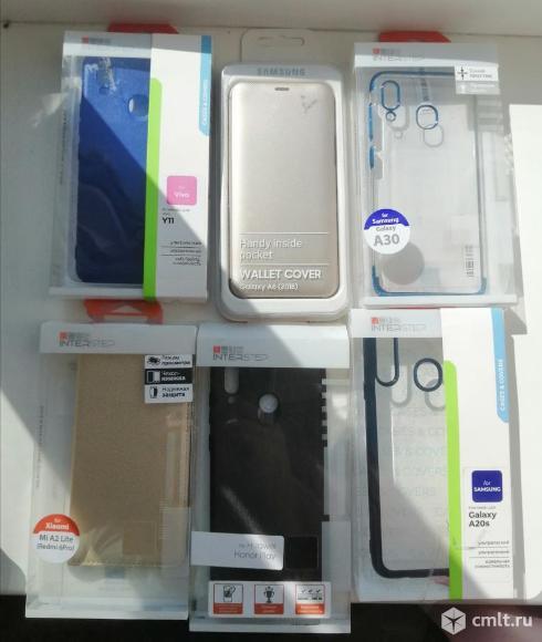 Новые чехлы накладки, книжки, клипкейс, флипкейс для смартфонов. Фото 1.
