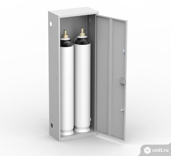 Шкаф для газовых баллонов. Фото 10.