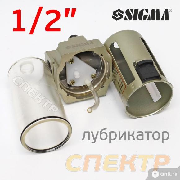 "Пневмолубрикатор (1/2"") Sigma ReFine 5000 л/мин. Фото 2."