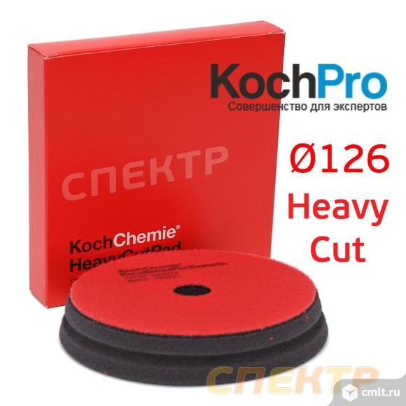 Полировальник Koch D126 Heavy Cut Pud красный. Фото 3.