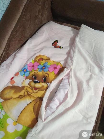 Детское одеяло теплое с пододеяльником. Фото 4.