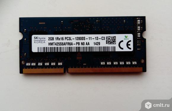 Hynix 2Гб 1Rx16 PC3L-12800S-11-13-C3. Фото 1.