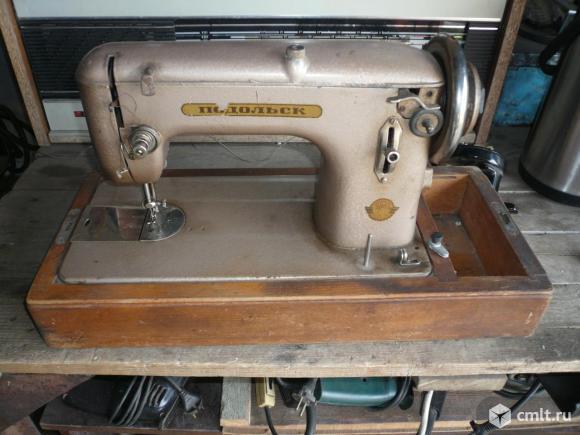 Швейная машинка Подольск. Фото 1.