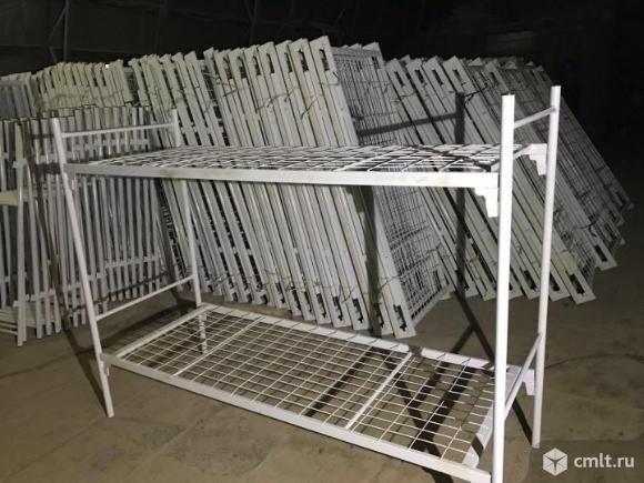 Металлические кровати эконом-класса.. Фото 5.