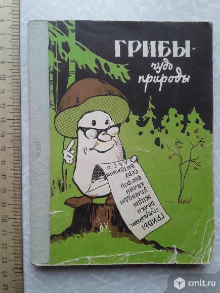 Федяев. Грибы - чудо природы. 1973г.. Фото 1.