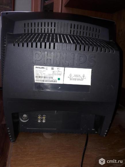 Телевизор кинескопный цв. Philips. Фото 2.