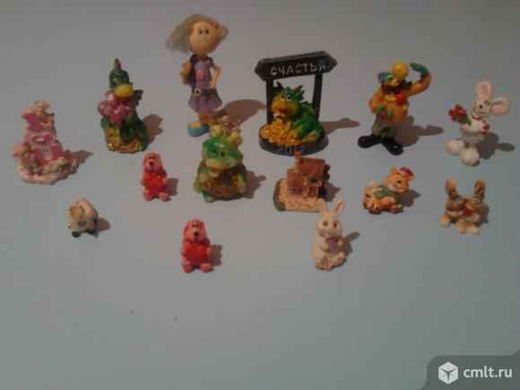Игрушки-статуэтки. Фото 1.