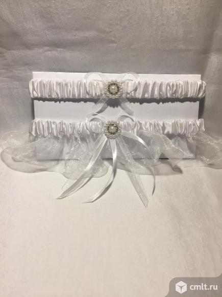 Подвязка невесты. Фото 1.