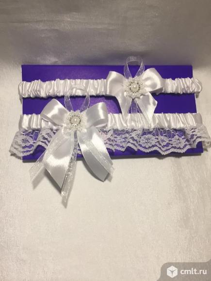 Подвязка невесты. Фото 2.