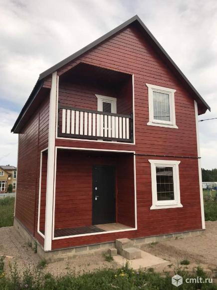 Продается: дом 100 м2 на участке 10 сот.. Фото 1.