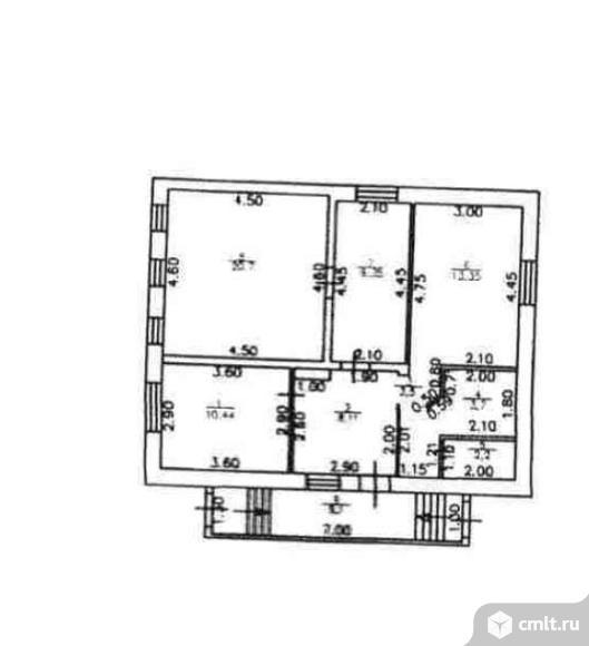 Продается: дом 80.5 м2 на участке 8.17 сот.. Фото 7.