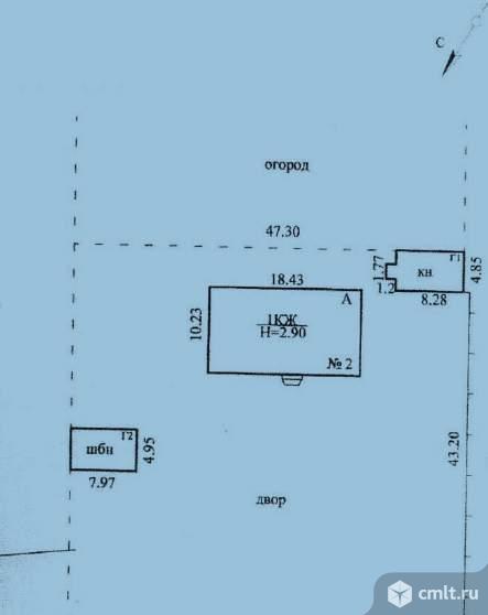 Продается: дом 168.9 м2 на участке 12 сот.. Фото 1.