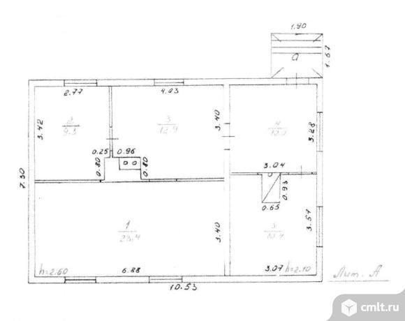 Продается: дом 66 м2 на участке 8 сот.. Фото 6.
