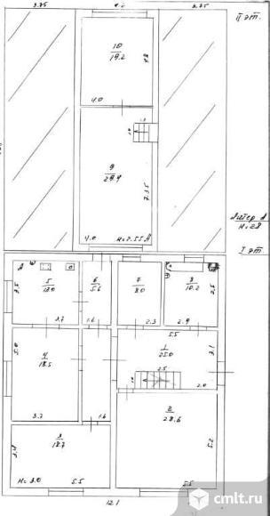 Продается: дом 176.2 м2 на участке 10 сот.. Фото 3.