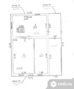 Продается: дом 43.5 м2 на участке 5.99 сот.. Фото 4.