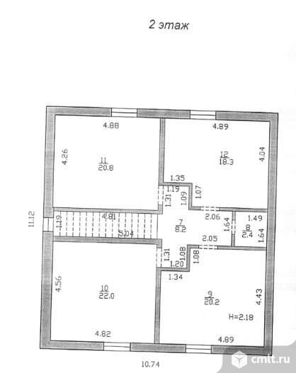 Продается: дом 172.9 м2 на участке 7.07 сот.. Фото 7.