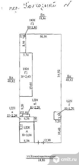 Продается: дом 51.3 м2 на участке 10.37 сот.. Фото 1.