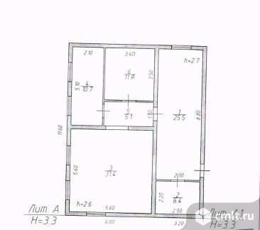 Продается: дом 85.9 м2 на участке 19.76 сот.. Фото 1.