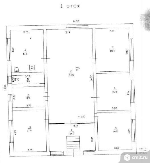 Продается: дом 166.6 м2 на участке 5.97 сот.. Фото 4.