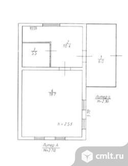 Продается: дом 28.6 м2 на участке 37 сот.. Фото 1.