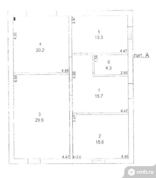 Продается: дом 98.9 м2 на участке 15 сот.. Фото 3.