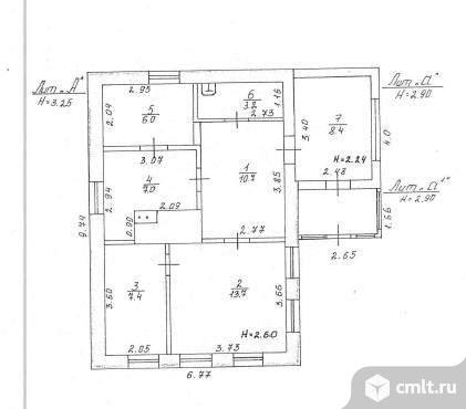 Продается: дом 54.6 м2 на участке 15 сот.. Фото 1.