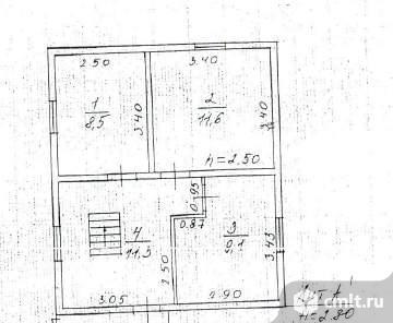 Продается: дом 114.6 м2 на участке 12.16 сот.. Фото 7.