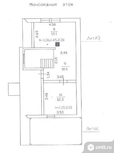 Продается: дом 105.4 м2 на участке 17.94 сот.. Фото 5.
