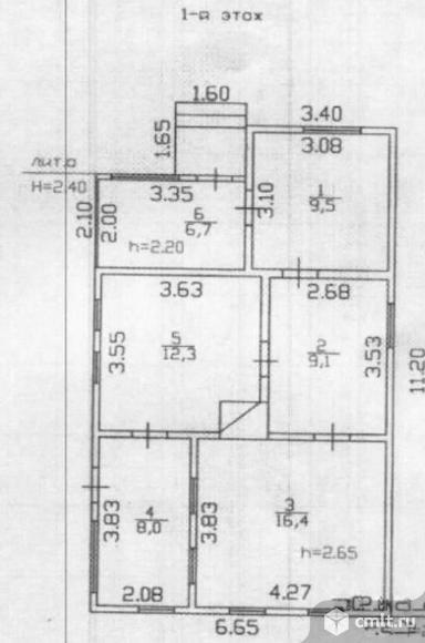 Продается: дом 62 м2 на участке 25 сот.. Фото 7.