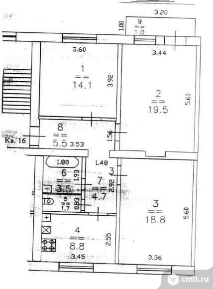 Продается комната 18.8 м2 в 1 ком.кв.. Фото 4.
