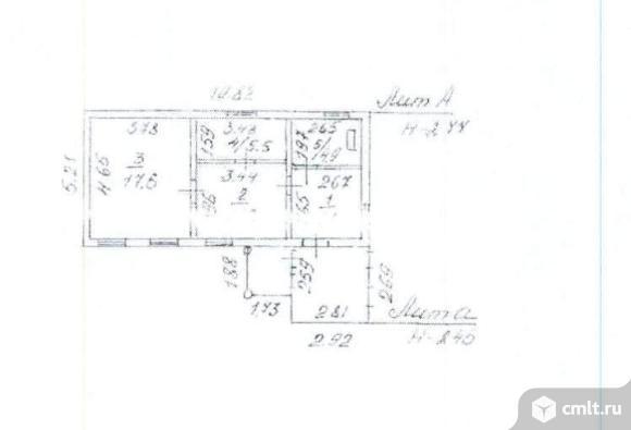 Продается: дом 45.3 м2 на участке 43.99 сот.. Фото 1.