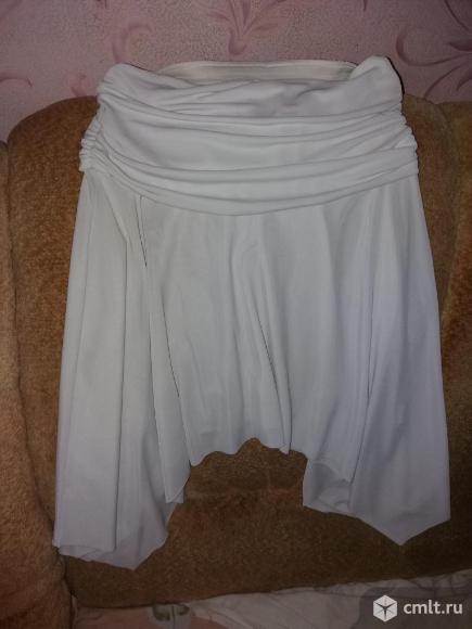 Юбка белая. Фото 1.