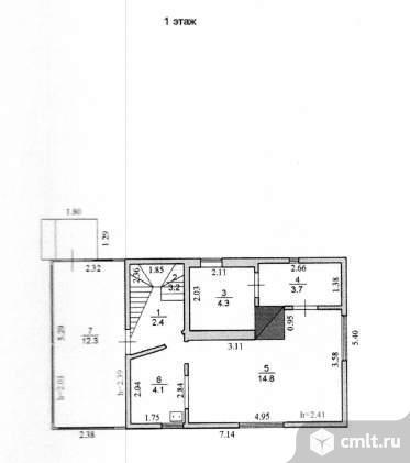 Продается: дом 70 м2 на участке 12.47 сот.. Фото 1.