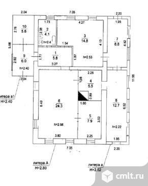 Продается: дом 64.2 м2 на участке 31 сот.. Фото 3.