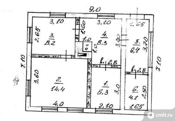 Продается: дом 47.4 м2 на участке 12 сот.. Фото 4.