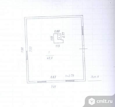 Продается: дом 48.8 м2 на участке 7.99 сот.. Фото 6.
