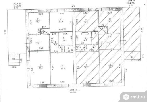 Продается: дом 69.6 м2 на участке 9.76 сот.. Фото 4.