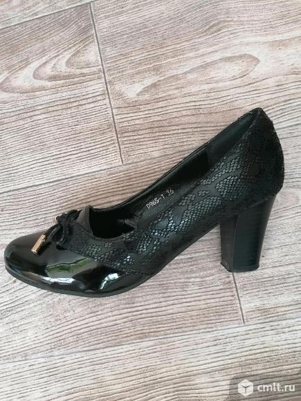 Туфли новые р.36. Фото 2.